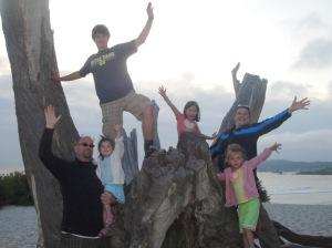 The Salomao-Schmidt Family in California!:)