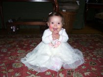 Sophia on her birthday!!!