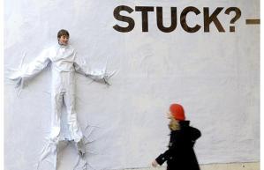 1 stuck