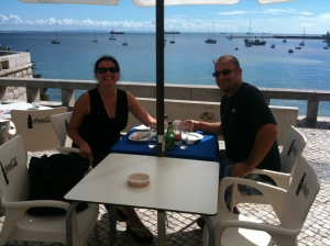 "Planning our future and savoring our present together on the ""other side"" of the Atlantic Ocean in beautiful Portugal!"