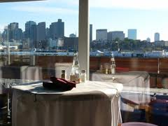 Great option if you are in Boston... Tavern on the Water1 8th St, Pier 6Charlestown, MA 02129(617) 242-8040www.tavernonthewater.com