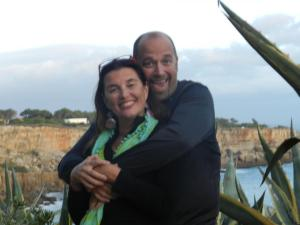 Doug and Maria in Cascais 2012