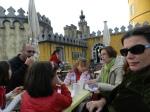 At the Pena Palace (Palacio da Pena) also in magical Sintra, Portugal
