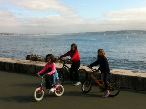 Biking and moving my body more with my kids are also on my list for 2013!