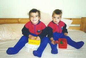 Her boys in Brasil 2002