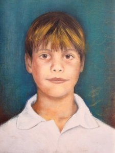 Beautiful portrait of Lucas