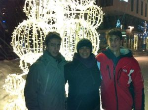 Aida With her boys in Norway Christmas 2012 - their last one together! She had a blast with her boys and Axel!!!