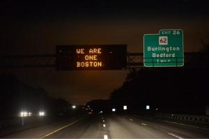 Boston - We are one Boston