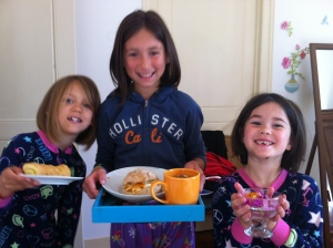 Mother's Day Tradition... Breakfast in bed, one of my VERY favorite memories of this lifetime!