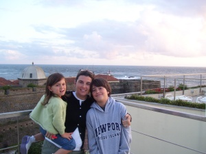 In Porto, Portugal by the rooftop beach! NICE, REAL NICE!